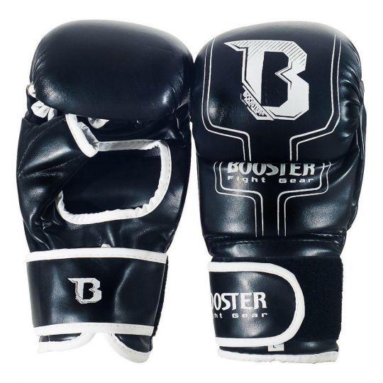 Booster MMA Sparring Handschuhe - Schwarz / Weiß
