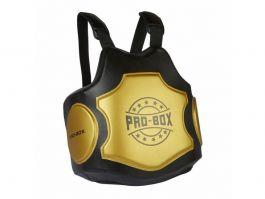 Pro Box Hi Impact Coaches Körperschutz - Schwarz / Gold