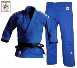 Adidas Champion II Judo Uniform Blau - IJF Beschwerden