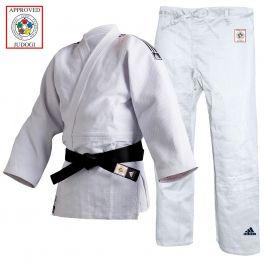 Adidas Champion II Judo Uniform Weiß - Slim Fit - IJF Approved