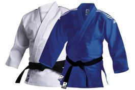 Adidas Training Judo Uniform Blau oder Weiß 500g