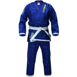 Kinder Lutador Brasilianer Jiu Jitsu BJJ GI - Blau