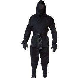 Blitz Sport Erwachsene Ninja Anzug Schwarz