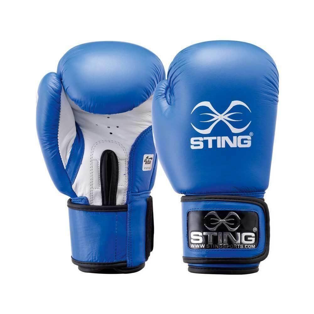 Sting AIBA boxing glove blue NEW