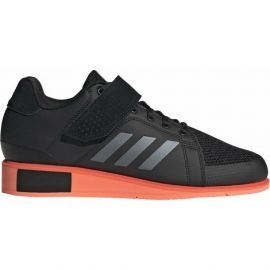 Adidas Power Perfect III Weightlifting Boots - Black Coral